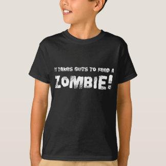 Takes Guts Kids Zombie T-shirt