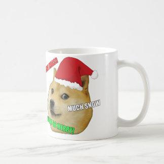 Tasse de Meme de doge de Noël