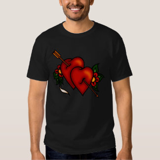 Tattoo Hearts with Arrow Shirts