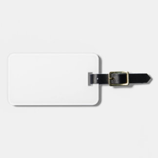 Template blank easy add TEXT PHOTO JPG IMAGE FUN Bag Tags