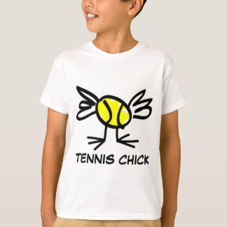 Tennis clothing for girls | Tennis chick t-shirt