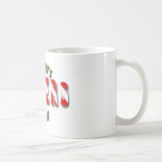 Test 3 classic white coffee mug