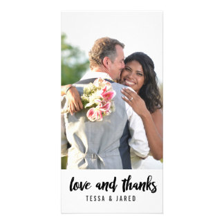 Thank You Photo Card | WEDDINGS