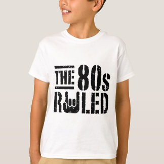 The 80s Ruled T Shirts