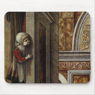 The Annunciation with St. Emidius, 1486 Mouse Pad