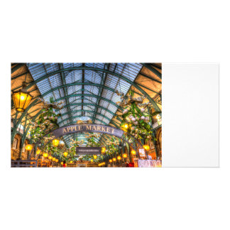 The Apple Market Covent Garden London Photo Card Template