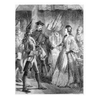 The Arrest of Caroline Matilda Postcard