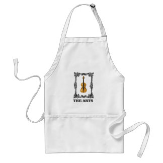 the arts violin standard apron