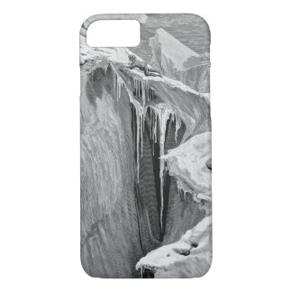 The Bergschrund on the Dent Blanche in 1865, from iPhone 7 Case