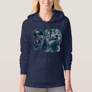The Five Armies Character Graphic Hooded Pullovers