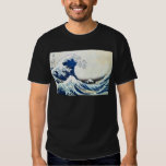 """""""The Great Wave"""" Japanese Painting by Hokusai Tee Shirt"""