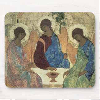The Holy Trinity, 1420s (tempera on panel) Mouse Pad