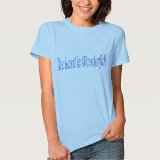 The Lord Is... Fitted Ladies Baby Doll Tee