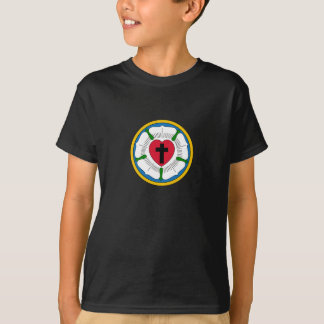The Luther Rose Lutheranism Martin Luther T Shirts