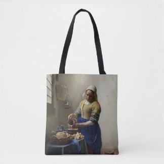 The Milk Maid At Work Tote Bag
