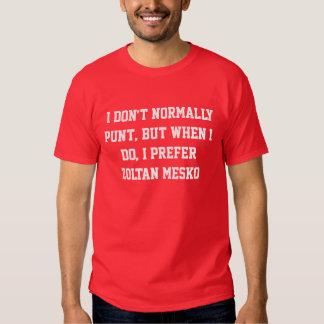 The Most Interesting Punter Zoltan Mesko T Shirts