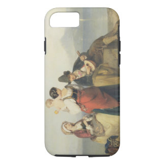 The Neapolitan Family, 1865 (oil on panel) iPhone 7 Case