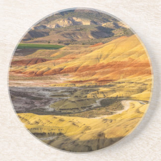 The Painted Hills In The John Day Fossil Beds 3 Beverage Coaster