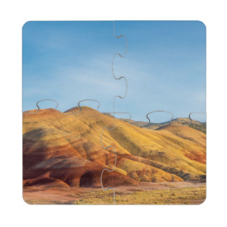 The Painted Hills In The John Day Fossil Beds Puzzle Coaster