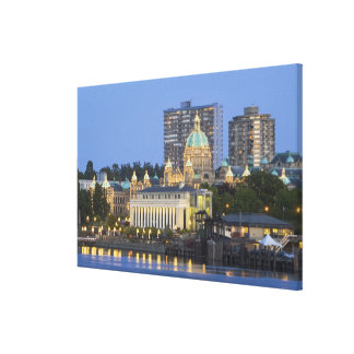 The Parliament Buliding lit up at the inner Canvas Prints