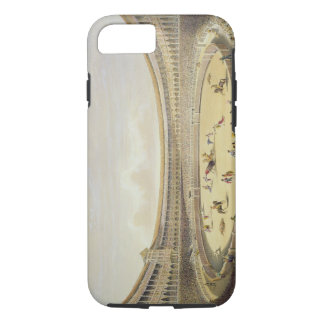 The Plaza de Toros of Madrid, 1865 (colour litho) iPhone 7 Case
