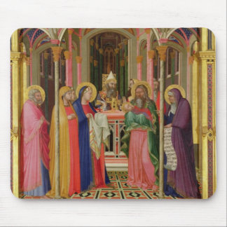 The Presentation in the Temple, 1342 (tempera on p Mouse Pad
