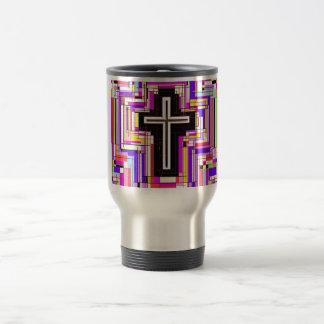 The Religious Christian Cross 15 Oz Stainless Steel Travel Mug