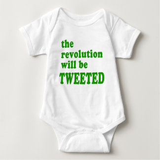 The Revolution will be Tweeted Products Tee Shirts