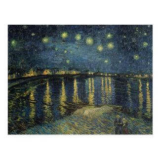 The Starry Night, 1888 Postcard