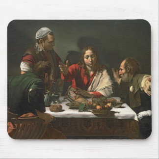 The Supper at Emmaus, 1601 (oil and tempera) Mouse Pad