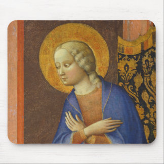 The Virgin Annunciate, c. 1430 (tempera on panel) Mouse Pad