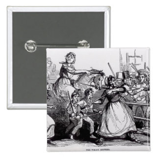 The Welsh Rioters 2 Inch Square Button