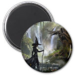 The Wicked Witch of the West 3 2 Inch Round Magnet