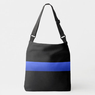 Thin Blue Line Universal Police Symbol Tote Bag