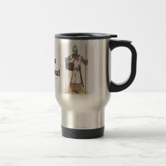Think Medieval 15 Oz Stainless Steel Travel Mug