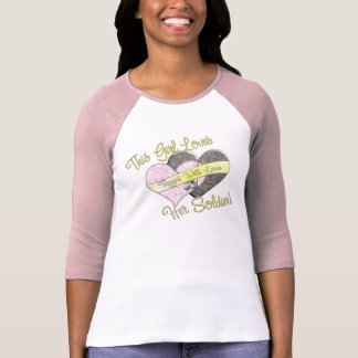 This Girl Loves He Soldier T Shirt