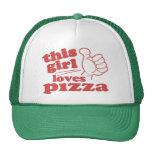 This Girl Loves Pizza Trucker Hat