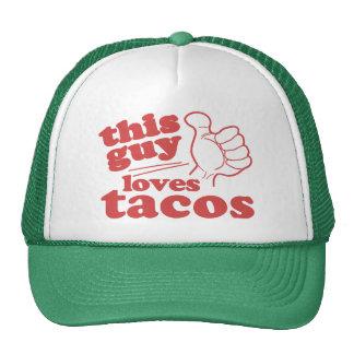 This Guy or Girl Loves Tacos Trucker Hat