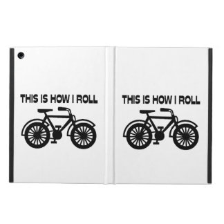 This Is How I Roll Bicycle iPad Air Cases