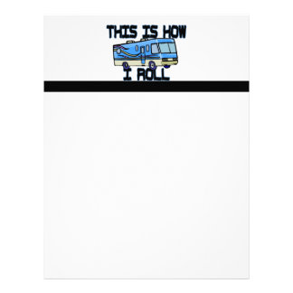 This Is How I Roll RV Letterhead Template