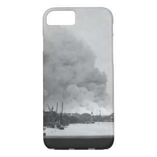This picture, taken during the first mass_War imag iPhone 7 Case
