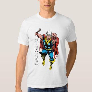 Thor Punching Attack Tshirts