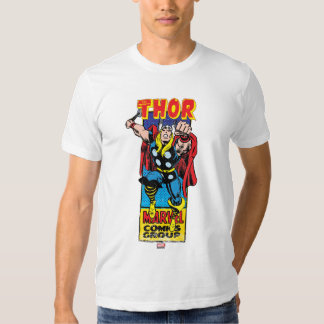 Thor Retro Comic Graphic Shirts