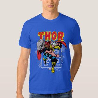 Thor Retro Comic Price Graphic Tshirt