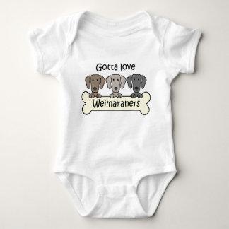 Three Weimaraners Tee Shirt