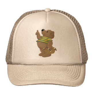 Thumbs up Bear Trucker Hat