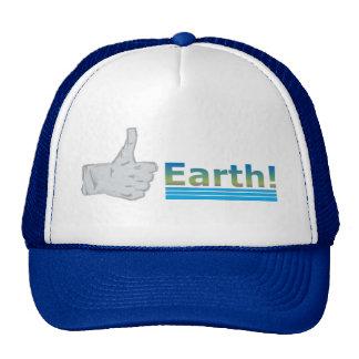 Thumbs Up Earth! Trucker Hat