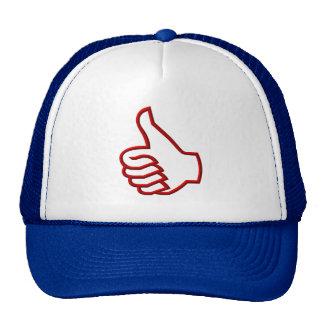 Thumbs Up hand Trucker Hat