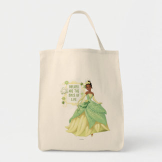 Tiana - Dreams Are The Spice Of Life Grocery Tote Bag