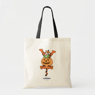 Tigger in Pumpkin Costume Budget Tote Bag